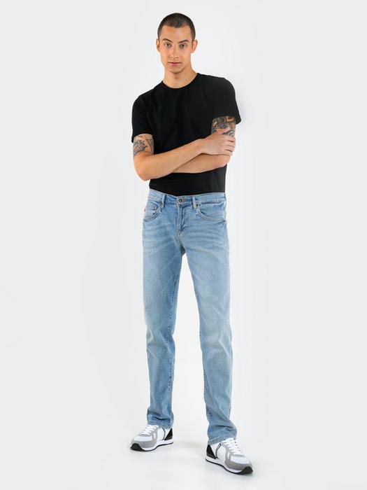 Брюки джинсовые TERRY 104