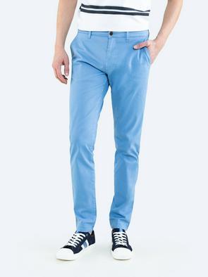 Голубые брюки чиносы TOMY 400