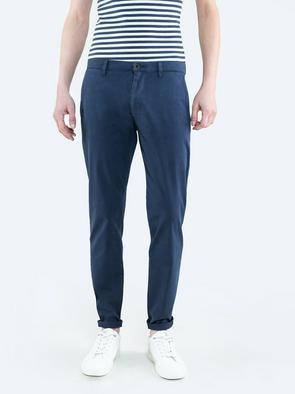 Синие брюки чиносы TOMY 404