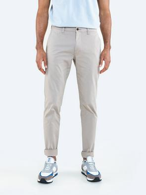 Бежевые брюки чиносы TOMY 805