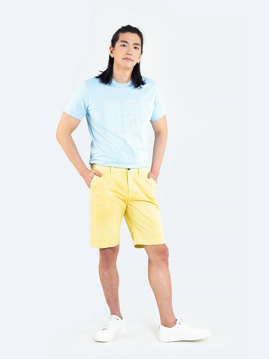 Желтые мужские шорты ROSS 200