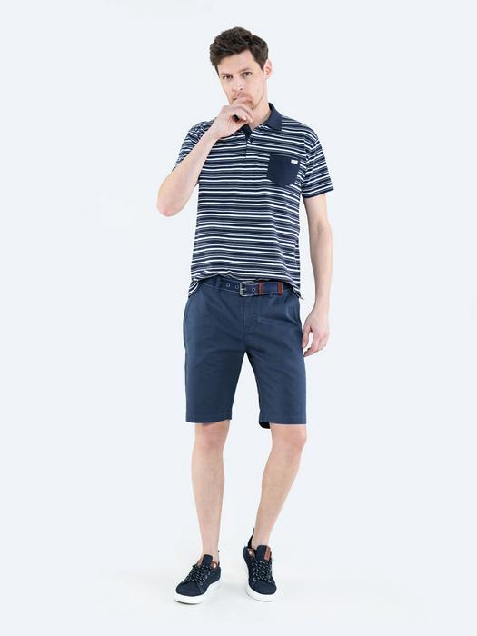 Синие мужские шорты ROSS 404