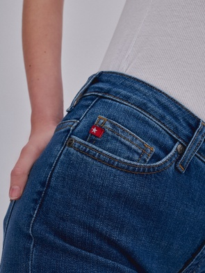 Брюки джинсовые LINDA 369