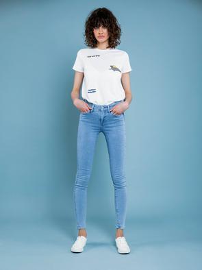 Брюки джинсовые ADELA 126