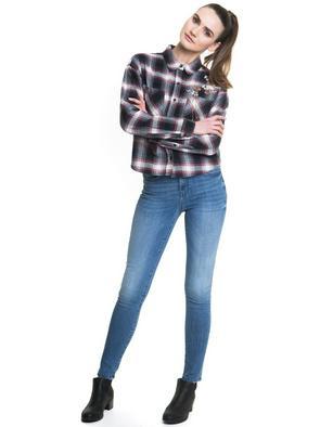 Брюки джинсовые ADELA 141