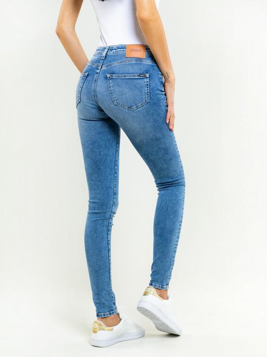 Женские джинсы с высокой талией ADELA 303