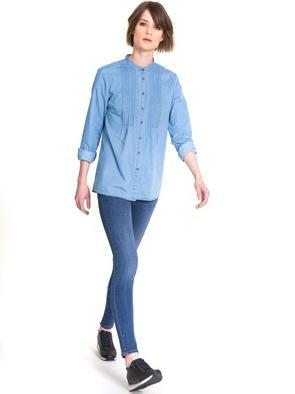 Брюки джинсовые CLARA 378