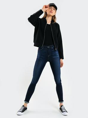Брюки джинсовые CLARA W27 798