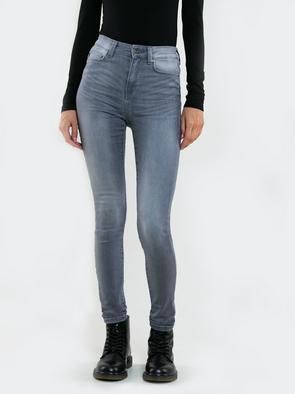 Облегающие джинсы с высокой талией CLARA 890