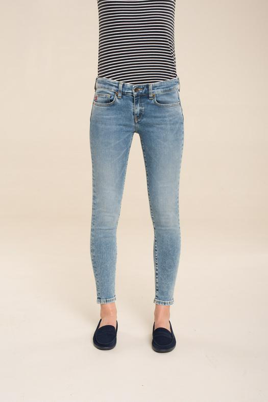 Брюки джинсовые MELINDA CROPPED 303
