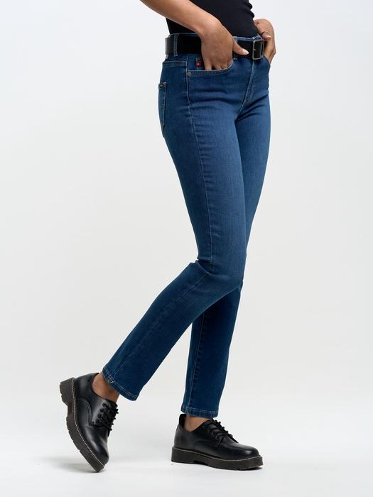 Прямые джинсы с высокой талией ADELA STRAIGHT 358