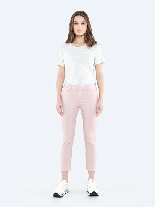 Укороченные брюки чиносы RIANA 600