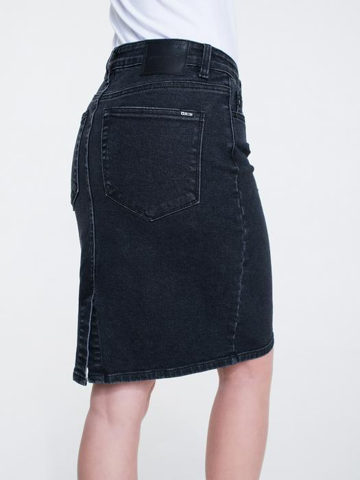 Чёрная джинсовая юбка HAWEI 998