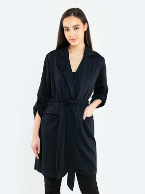 Пальто с поясом SARINANA 906