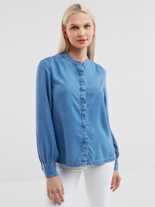 Джинсовая рубашка NOVITA 300