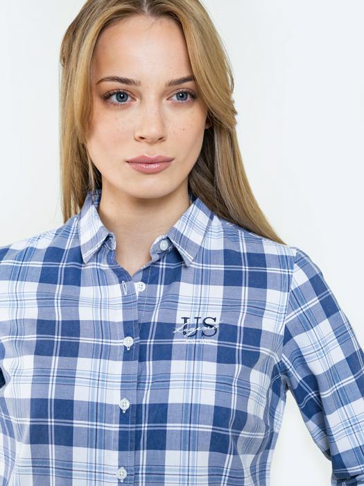 Рубашка в клетку PATIMI 401