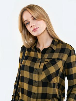 Женская рубашка в клетку MADILYNS 303