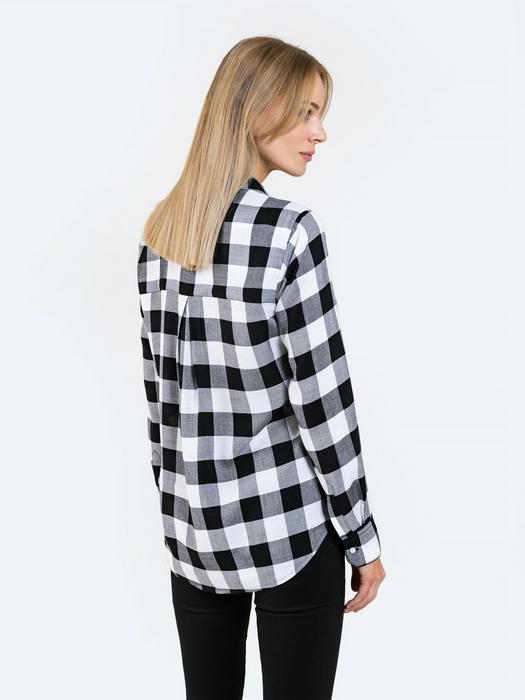 Женская рубашка в клетку MADILYNS 906