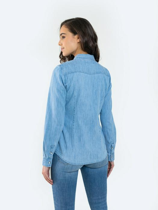 Джинсовая рубашка AVALYNN 191
