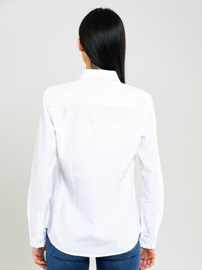 Классическая белая рубашка PERLANA 101