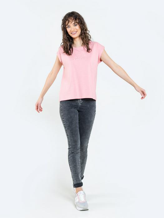 Женская футболка с вышитой надписью GARITASA 601