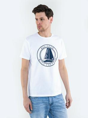 Мужская футболка с изображением SUMMERTES 101