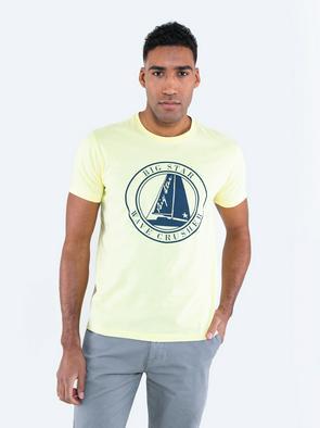 Мужская футболка с изображением SUMMERTES 100