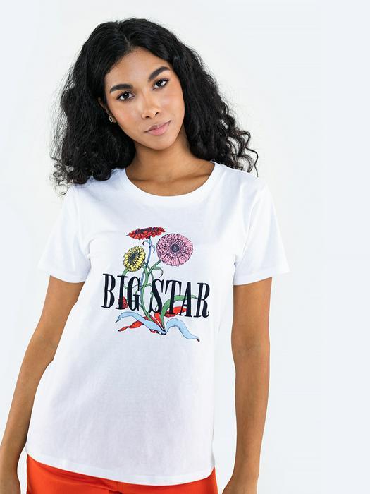 Женская футболка с цветочным принтом GABRIELE 101