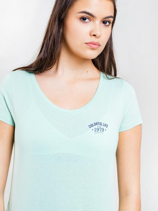 Однотонная футболка с надписью NIKA 315