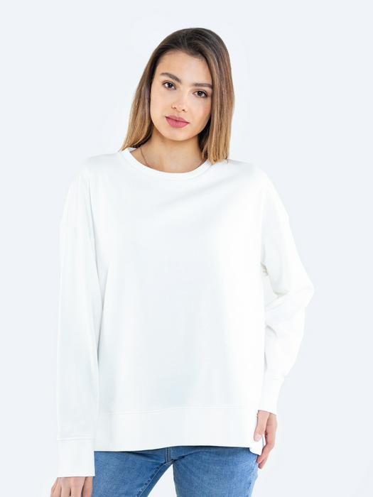 Белый джемпер с принтом на спине KARO 100