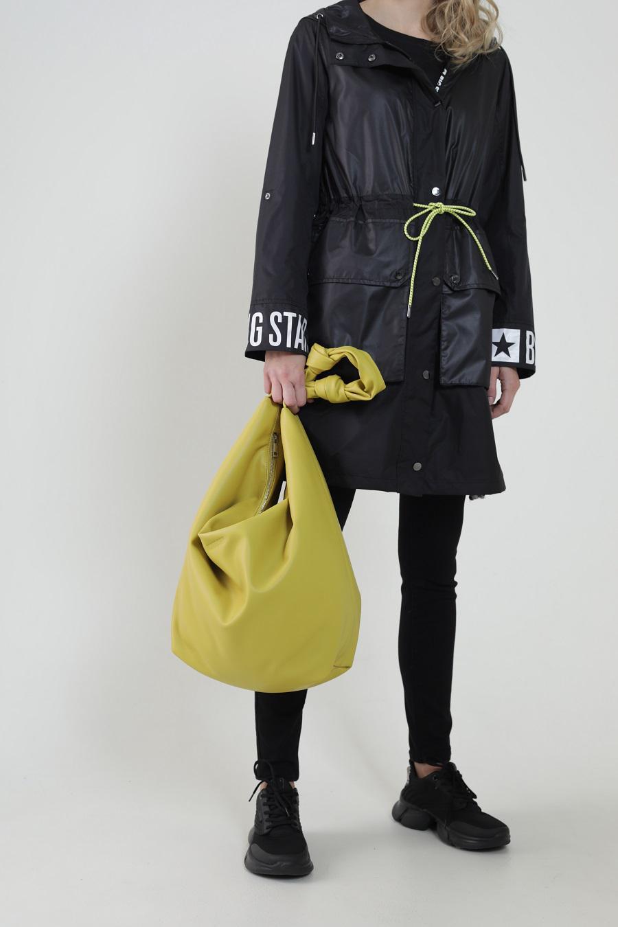 Желтая сумка-шоппер LIMA 300