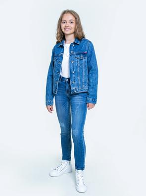 Брюки джинсовые LAYLA 316