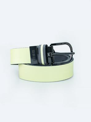Желтый кожаный ремень 2302 200