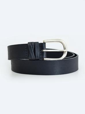 Чёрный ремень для джинсов 2306 906