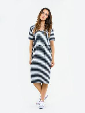 Длинное платье в полоску KYLLEE 403