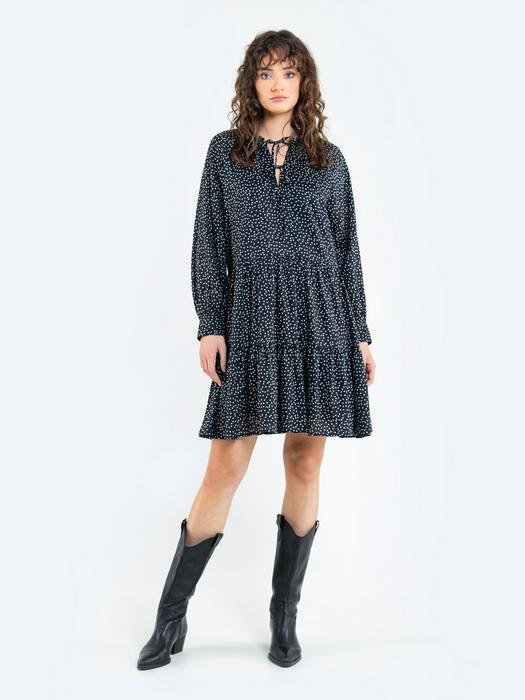 Платье в горошек KACESI 906