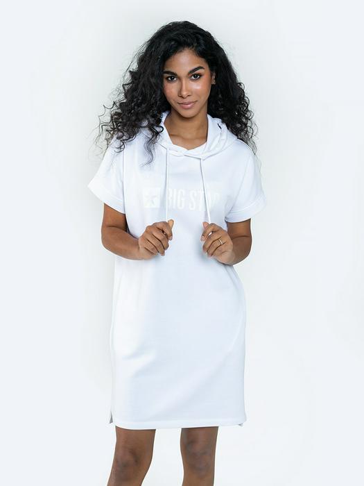 Спортивное платье с капюшоном REWENCA 101