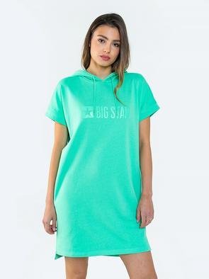 Спортивное платье с капюшоном REWENCA 301