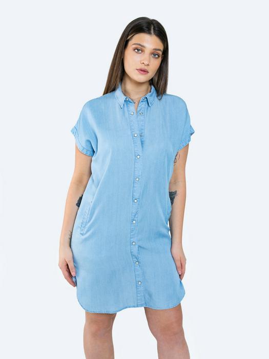 Повседневное платье рубашка LISSA 100