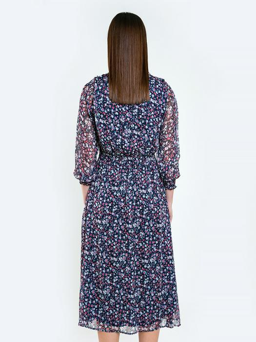 Длинное платье с цветами MALEDI 403