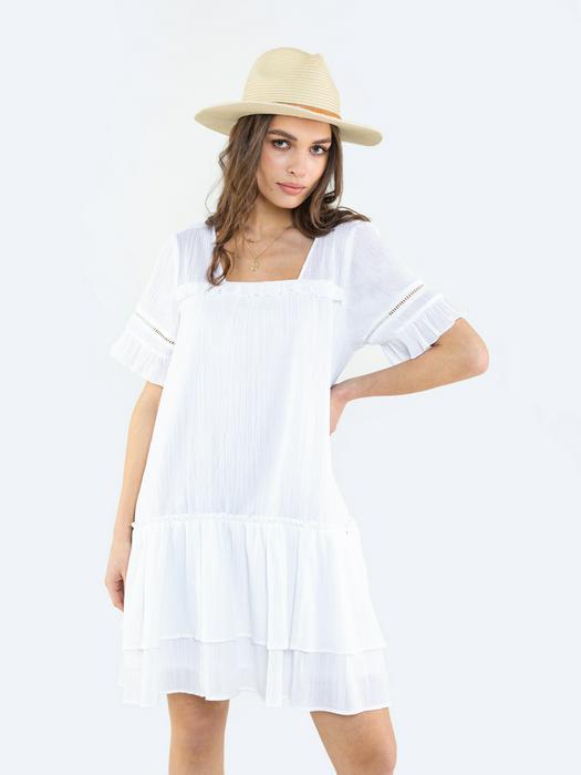 Короткое платье в стиле бохо KYRANI 100