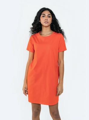 Короткое платье с круглым вырезом PERATORIA 603