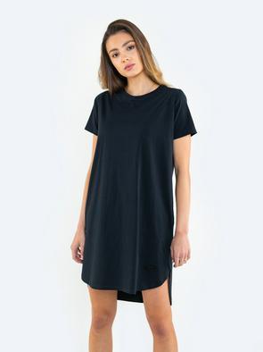 Короткое платье с круглым вырезом PERATORIA 906