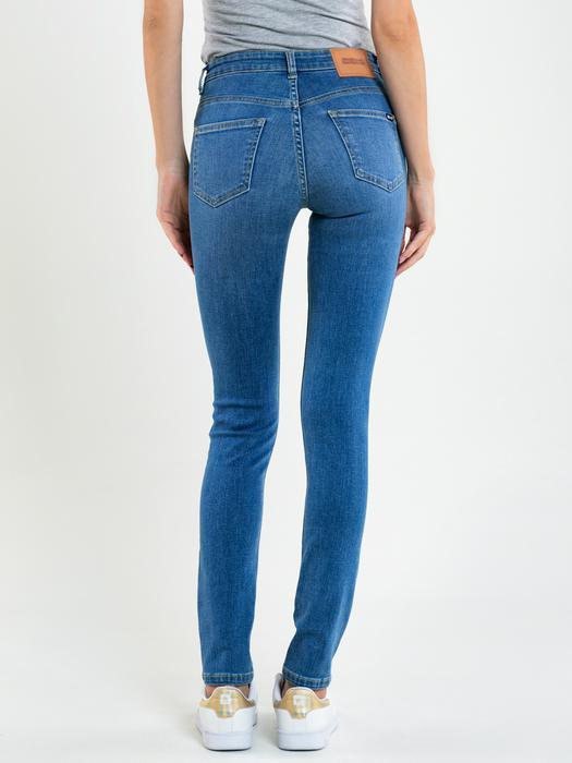 Женские джинсы с высокой посадкой ADELA 346