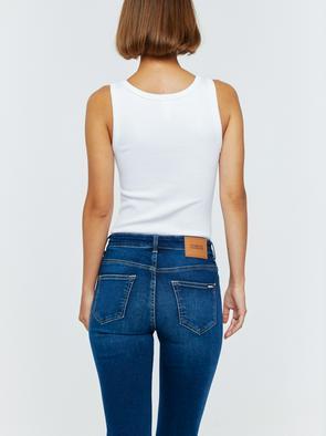 Женские джинсы с высокой посадкой ADELA 358