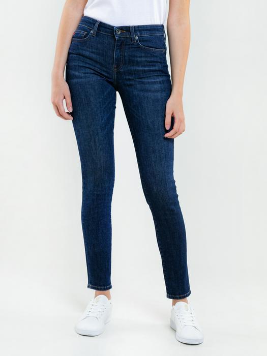 Женские джинсы с высокой посадкой ADELA 463