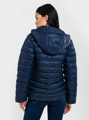 Cтеганая куртка с капюшоно AZEALA 403