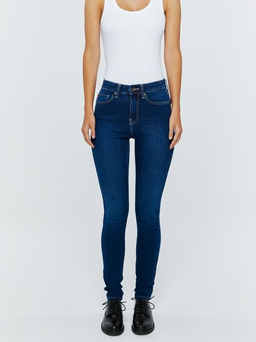 Женские джинсы с высокой посадкой CLARA 358