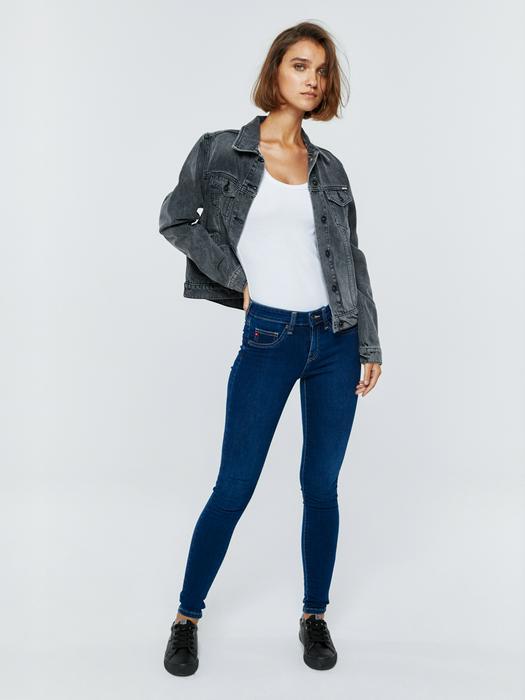Женские джинсы с высокой талией DESTINY 358