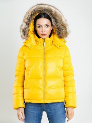 Стеганая куртка с капюшоном EFUA 201